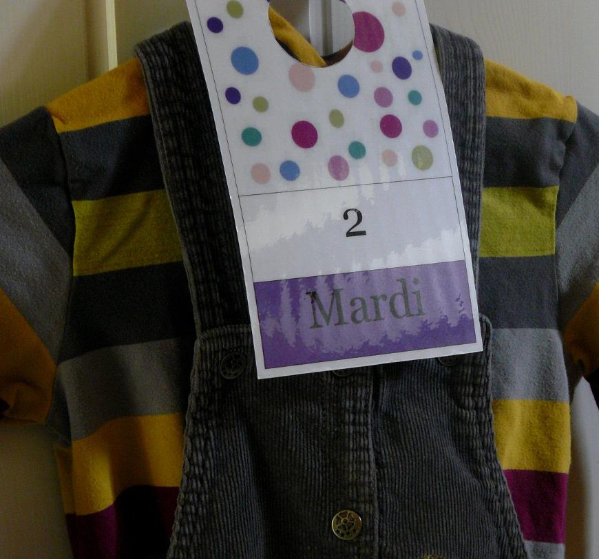 Planning vêtements semaine 014bis
